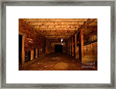A Ghostly Self Portrait Framed Print by Phil Dionne