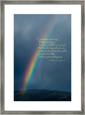 A Gift From God Framed Print by Mick Anderson