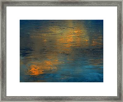 A Gift Of Gold Framed Print by Dennis James