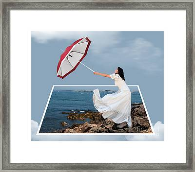 Fly Away Framed Print by Juli Scalzi