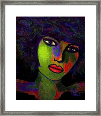 A Girl Framed Print