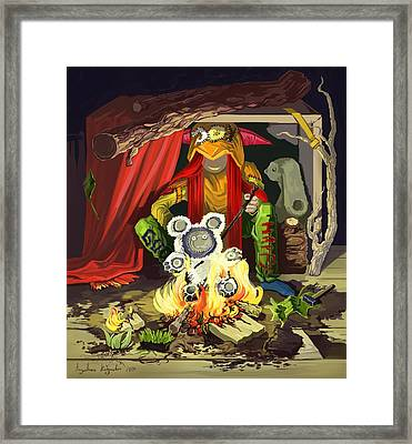 A Girl Who Only Does The Things She Likes Because She Likes Them Framed Print