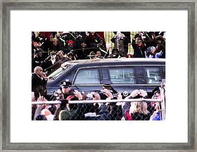 A Glimpse Framed Print by Kyle Pompey