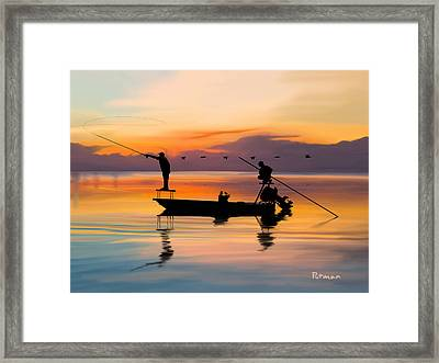 A Glorious Day Framed Print by Kevin Putman