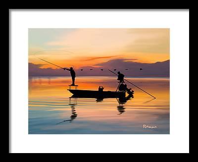 Boating Framed Prints