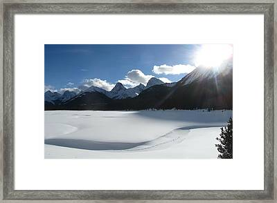 A Glorious Day Framed Print by Shirley Sirois
