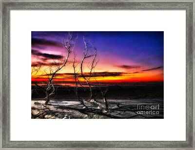 A Glorious New Day I - Outer Banks Framed Print by Dan Carmichael