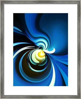 A Glow Of Yellow Framed Print by Hakon Soreide