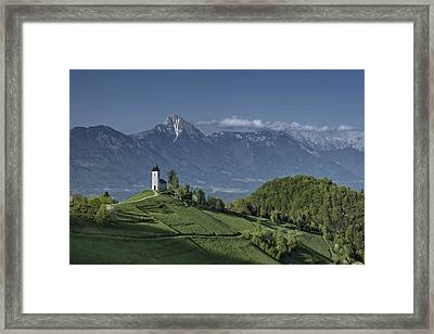 A God's Place Framed Print by Robert Krajnc