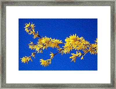 A Golden Afternoon Framed Print by Omaste Witkowski