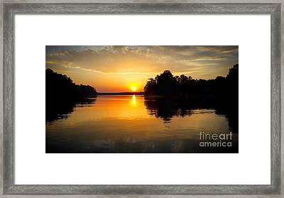 A Golden Moment Framed Print