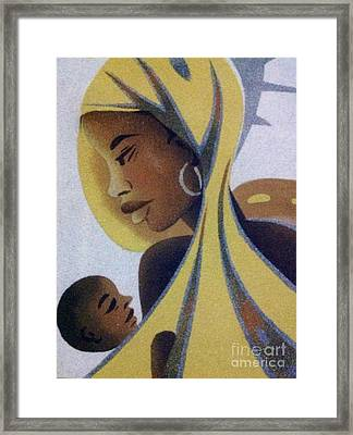 A Good Mother Framed Print