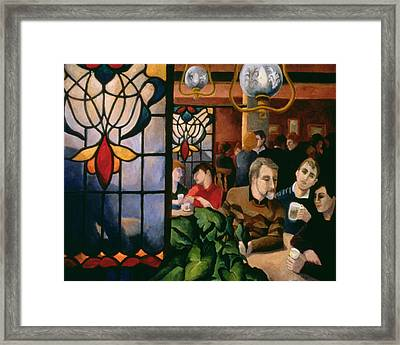 A Good Night Out Framed Print by Cristiana Angelini