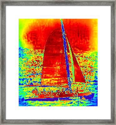 A Good Wind Framed Print by Kelly McManus