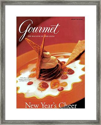 A Gourmet Cover Of Moch Mousse Framed Print