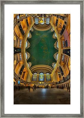 A Grand View  Framed Print
