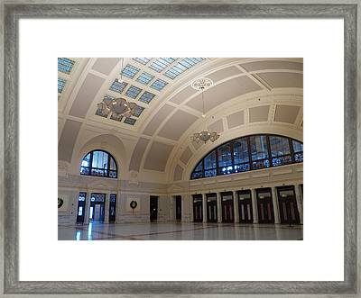 A Grander Day Framed Print