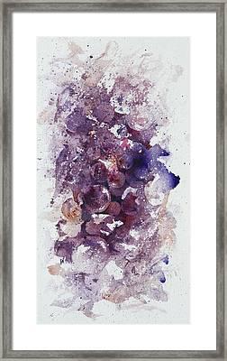 A Grape Thing Framed Print