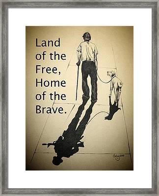 A Grateful Nation Framed Print