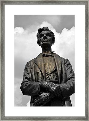A Great Man Framed Print