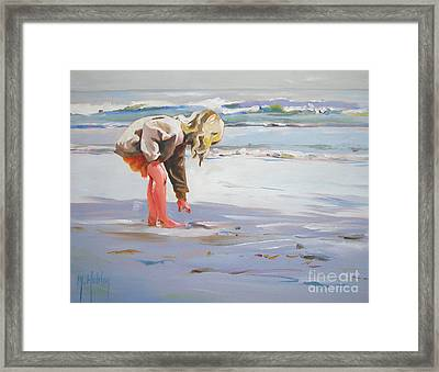 A Great Shell Framed Print by Mary Hubley