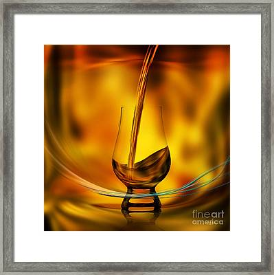 A Great Whisky Framed Print