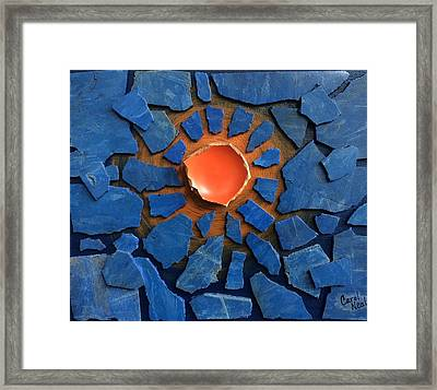 Cbs Sunday Morning A Greater Light To Rule The Day Framed Print