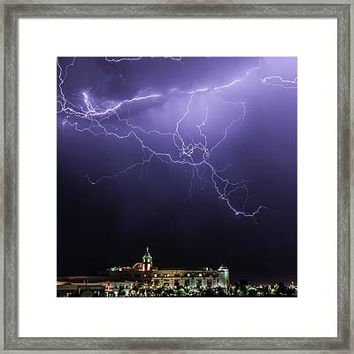 A Greater Power Framed Print by Cusi Taylor