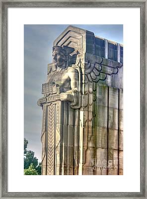 A Guardian Of Traffic - 2 Framed Print