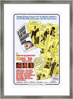 A Guide For The Married Man, Us Poster Framed Print by Everett