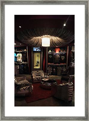 A Hard Rock Life Framed Print by Laurie Search