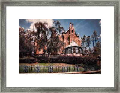 A Haunting House Framed Print