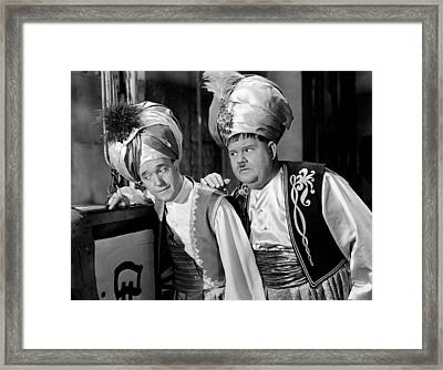 A-haunting We Will Go, From Left Stan Framed Print