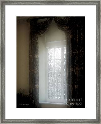 A Hazy Shade Of Winter Framed Print by RC deWinter