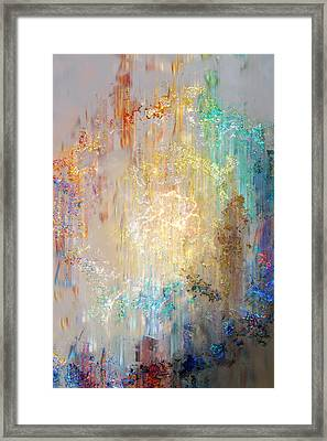 Framed Print featuring the digital art A Heart So Big - Custom Version 2 - Abstract Art by Jaison Cianelli