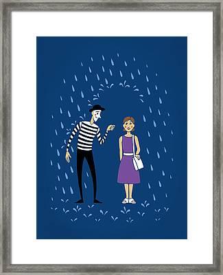 Framed Print featuring the digital art A Helping Hand by Ben Hartnett
