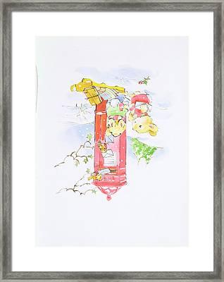 A Helping Hand Framed Print