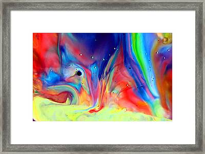 A Higher Frequency Framed Print