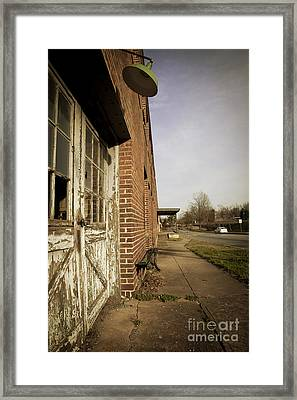 A History Of Furniture Framed Print by Jaclyn Burns