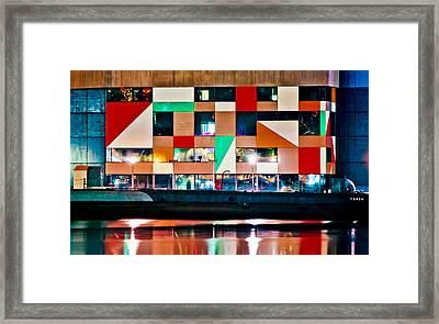A History Of The Harbor  Framed Print