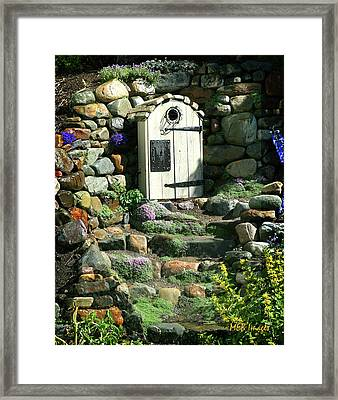 A Hobbit Home Framed Print by Margaret Buchanan