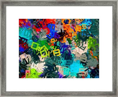 A--hole Framed Print