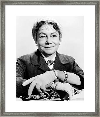 A Hole In The Head, Thelma Ritter, 1959 Framed Print