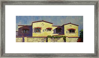 A Home In Barranco Framed Print