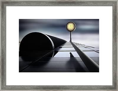 A Hopeful Light Framed Print