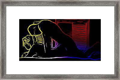 A Hot Night Framed Print by Steve K