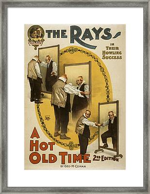 A Hot Old Time Framed Print by Aged Pixel