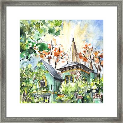 A House In Our Street In Budapest Framed Print by Miki De Goodaboom