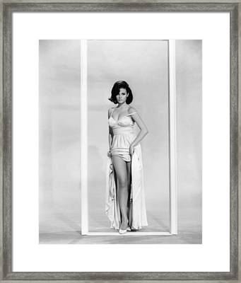 A House Is Not A Home, Raquel Welch Framed Print