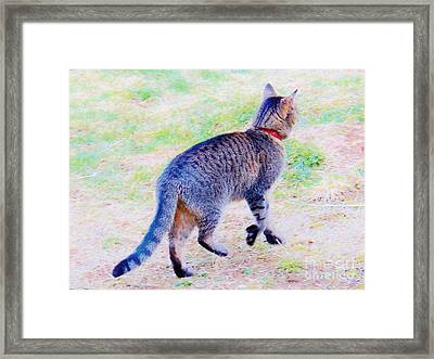 A Hunting We Will Go Framed Print by Judy Via-Wolff
